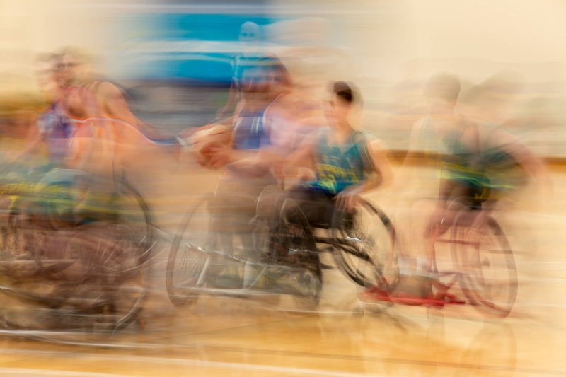 Honour For Wheelchair Basketball By Rodney Topor