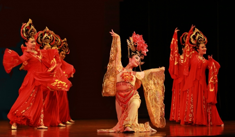 Merit For Chinese Dancers By Sam Fernando