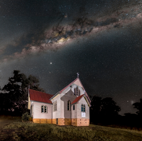 Honour For 081 Song   Under The Milky Way By The Church By Jefferey Mott
