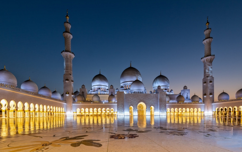 Merit For The Grand Mosque By Lekha Suraweera