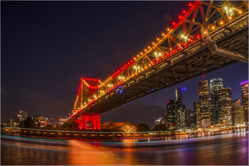 Honour For Story Bridge Lights By Ajantha Vithanage