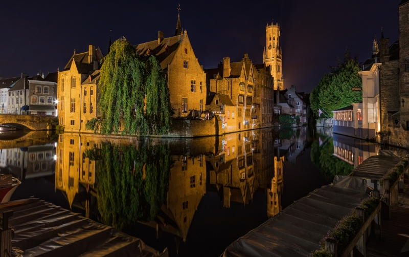 Merit For Reflecting On Brugge By Andrew Macrow