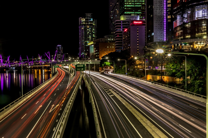 Honour For Light Trails In The City By Swarna Wijesekera