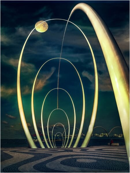 Merit For Spanda Sculpture Perth By Clive Hammond