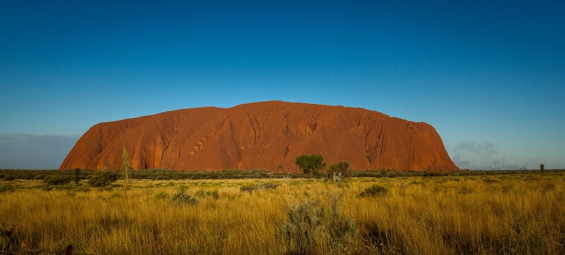 Merit For Uluru At Sunset By Liann Haaima