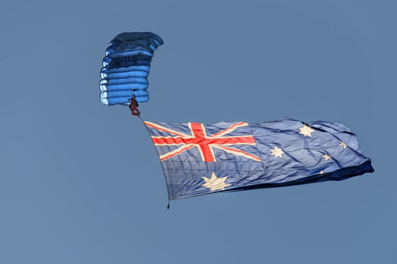 Honour For Flying The Flag By Ian Sweetman