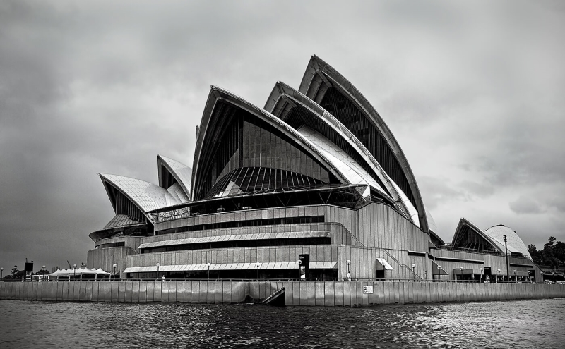 Merit For Sydney Opera House By Sandra Anderson