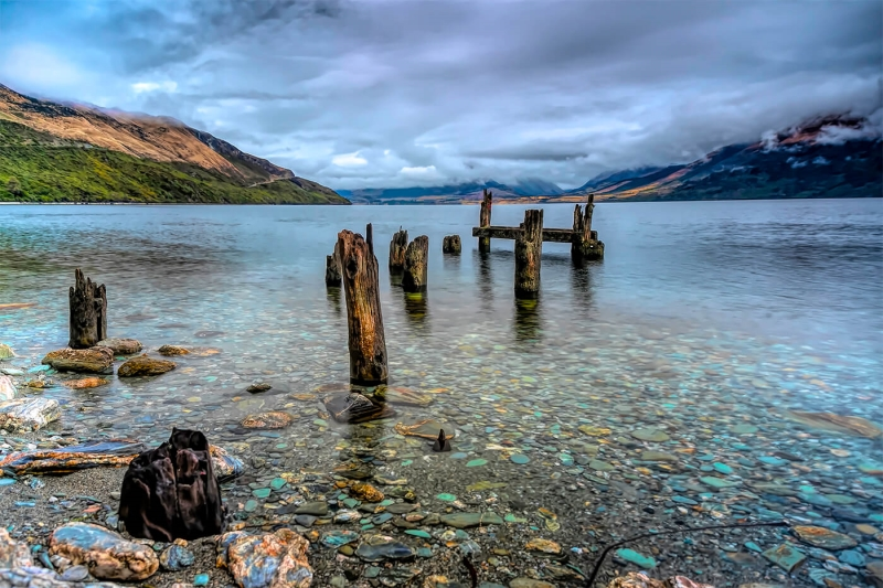 Merit For Old Jetty By Sandra Anderson