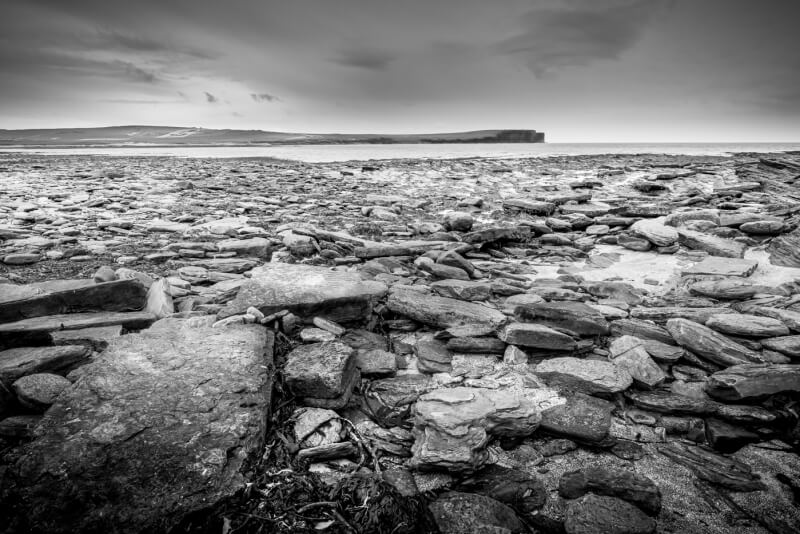 Merit For Orkney Shore By Michael Keenan