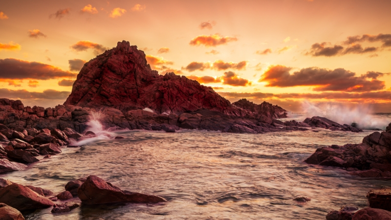 Honour For Sugarloaf Rock Sunset By Geoffrey Hui