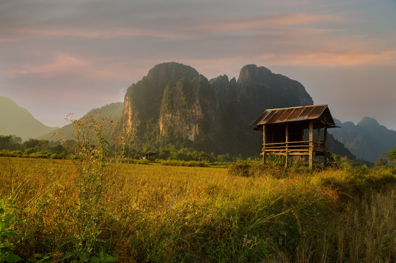 Honour For Abondoned Hut By Sam Fernando