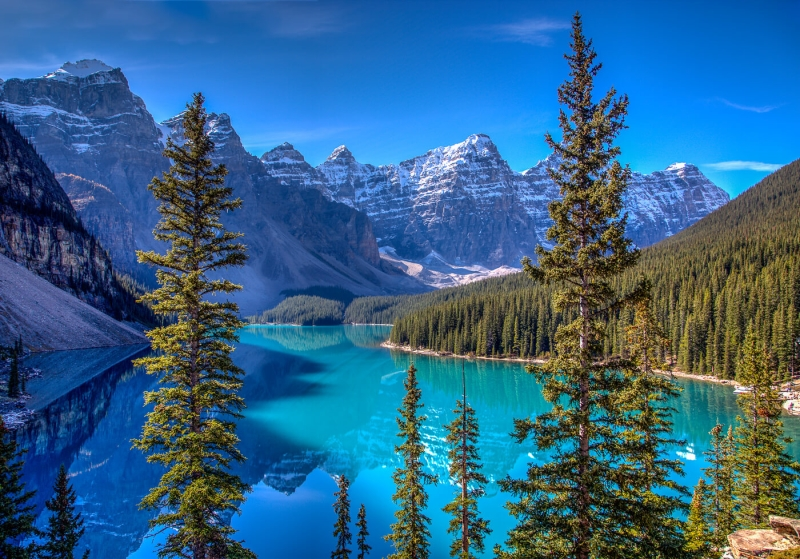 Honour For Moraine Lake By Chris Ross
