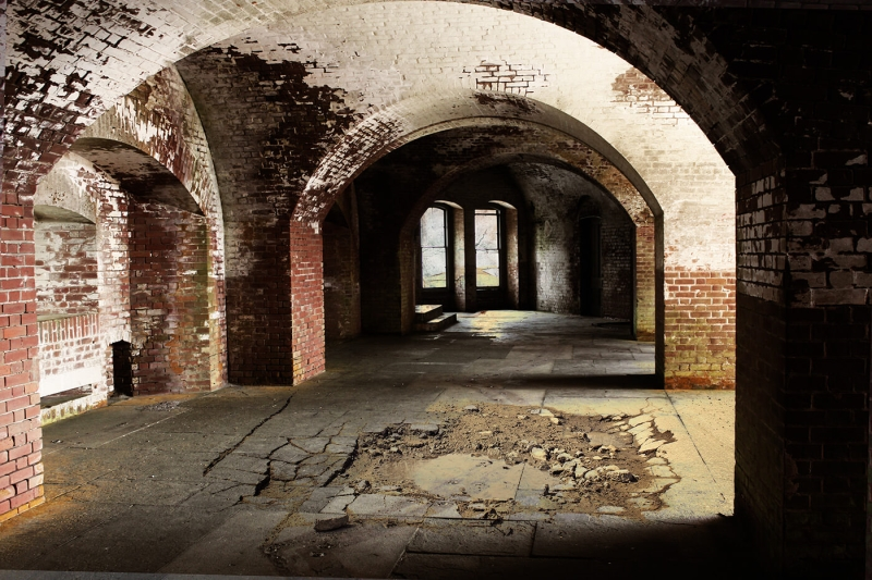 Merit For Abandoned Military Fort San Francisco By Trish Dixon