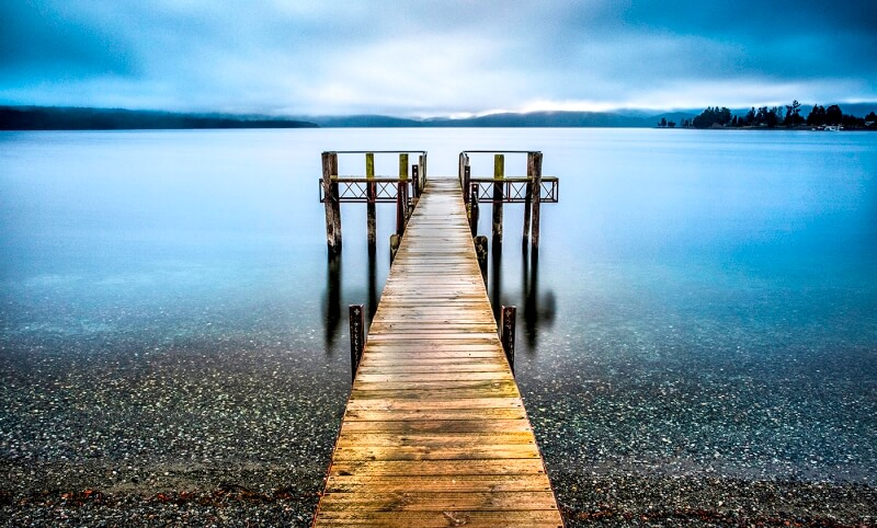 Merit For Te Anau Jetty By Sandra Anderson