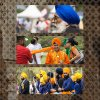 Sikh triptych  Set Subject  Merit   A Grade By  Jan Hollingsworth